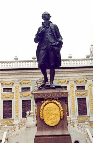Estátua de Goethe, Leipzig, Alemanha